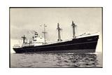 Dampfer S.S. Eemdyk, Holland America Line Giclee Print