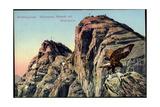Berchtesgaden Bayer, Hochland, Watzmann, Hocheck Mit Mittelspitze, Steinadler Giclee Print