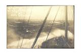 Foto United States Lines, S.S. America Im Sturm Giclee Print