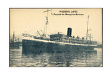 Messageries Maritimes, Pierre Loti, Dampfschiff Giclee Print