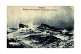 Messageries Maritimes, MM, Paquebot Angkor, Dampfer Giclee Print
