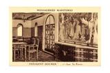 Messageries Maritimes, President Doumer, 1Er Classe Giclee Print