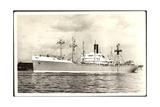 Dampfer S.S. Samarinda, Rotterdamsche Lloyd Giclee Print