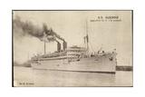 Compagnie De Navigation Paquet, S.S. Djenne Giclee Print