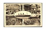Cunard Line, Dampfschiff Rms Berengaria, Lounge Giclee Print