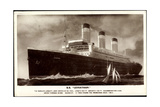 United States Lines, Usl, Dampfschiff S.S. Leviathan Giclee Print