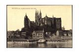 Meißen Elbe, Dampfer Karlsbad, Albrechtsburg, Dom Giclee Print