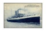 Messageries Maritimes, S.S. Bernardin De St Pierre Giclee Print