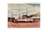 Künstler Messageries Maritimes, Paquebot Tonkin Giclee Print