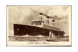 United States Lines, Usl, Dampfschiff S.S. Leviathan Giclee Print
