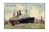 Künstler Red Star Line, S.S. Arabic Giclee Print
