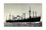 Dampfer Sommelsdyk, Holland America Line, Hal Giclee Print