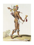 Brazil, Indian Man from Orinoco Giclee Print