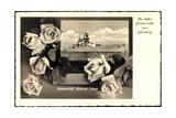 Glückwunsch Geburtstag, Panzerschiff Admiral Scheer Giclee Print