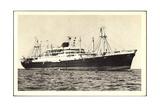 Messageries Maritimes, Paquebot Calédonien, Tahitien Giclee Print