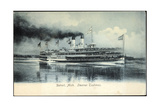 Detroit Michigan, Steamer Tashmoo, Raddampfer Giclee Print