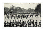 Funeral of King Edward 7, 20th May 1910, Gun Carriage Giclee Print