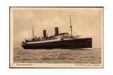 Bremerhaven, Blick Auf Den Dampfer Columbus A. See Giclee Print