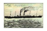 Antwerpen, S.S. Finland Der Red Star Line, Dampfer Giclee Print