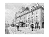 Austria, Vienna, Theatre on Wien River Giclee Print