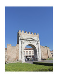 Arch of Augustus, Rimini, Italy Giclee Print