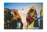 Libya, Sahara, Tubu Women Giclee Print