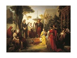 Italy, Treviso, Storytellers of Decameron Giclee Print
