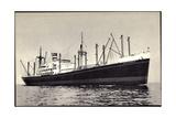Dampfer S.S. Alblasserdyk, Holland America Line Giclee Print