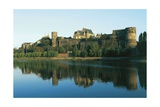 France, Loire Valley, Chateau D'Angers on Marne River Giclee Print
