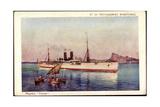 Künstler Messageries Maritimes, Paquebot Tourane Giclee Print