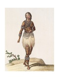 Brazil, Indian Woman from Orinoco Giclee Print