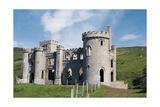 Ireland, Ruins of Clifden Castle Giclee Print