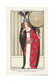 Women's Fashion Plate, from Journal Des Dames Et Des Modes, 1912 Giclee Print