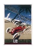 Automobile Lottery, Seventh Tripoli Grand Prix, May 7, 1933 Giclée-Druck