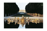 The Gardens of Palace of Versailles, France Giclee Print