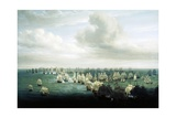 Battle of Trafalgar, October 21, 1805, First Phase, Spain Giclee Print