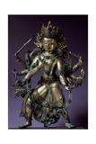 Avalokitesvara, Bodhisattva of Great Compassion, Bronze Statue Giclee Print