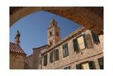 Croatia, Dalmatia, Dubrovnik, Dominican Monastery Exterior Giclee Print