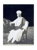 Eritrea, Massawa, Portrait of Mamer Walda Samael, Prisoner of Italians Giclee Print