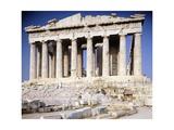 Greece, Athens, West Facade of Parthenon at Acropolis, 5th Century BC Giclee Print