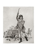 A London Fireman in the 1790's, from the Strand Magazine Published 1897 Giclee Print