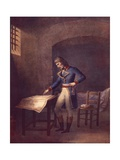 Napoleon Prisoner at Fort Carre in Antibes in August 1794, French Revolution, France 18th Century Giclee Print