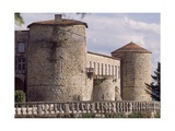 View of Chateau De Ravel, Auvergne, France, 12th-18th Century Giclee Print