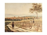 Germany View of Bayreuth Giclee Print