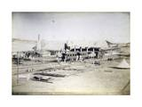 Railway Station and Naval Arsenal of Abdel Kader, Eritrea, Italian Colonialism in East Africa Giclee Print