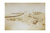 Eritrea, Saati, Poggio Ciuffo, Deployment of Assante Battery of Seventeenth Artillery Batallion Giclee Print