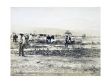 Eritrea, View of Ailet after Fire Giclee Print