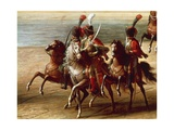 Napoleon's Hussars Giclee Print