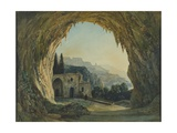 The Cave of the Capuchins in Amalfi, Italy Giclee Print
