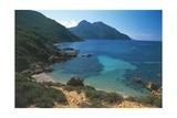 France, Corsica, Parc Naturel De La Corse, Gulf of Girolata and Cape Senino Giclee Print